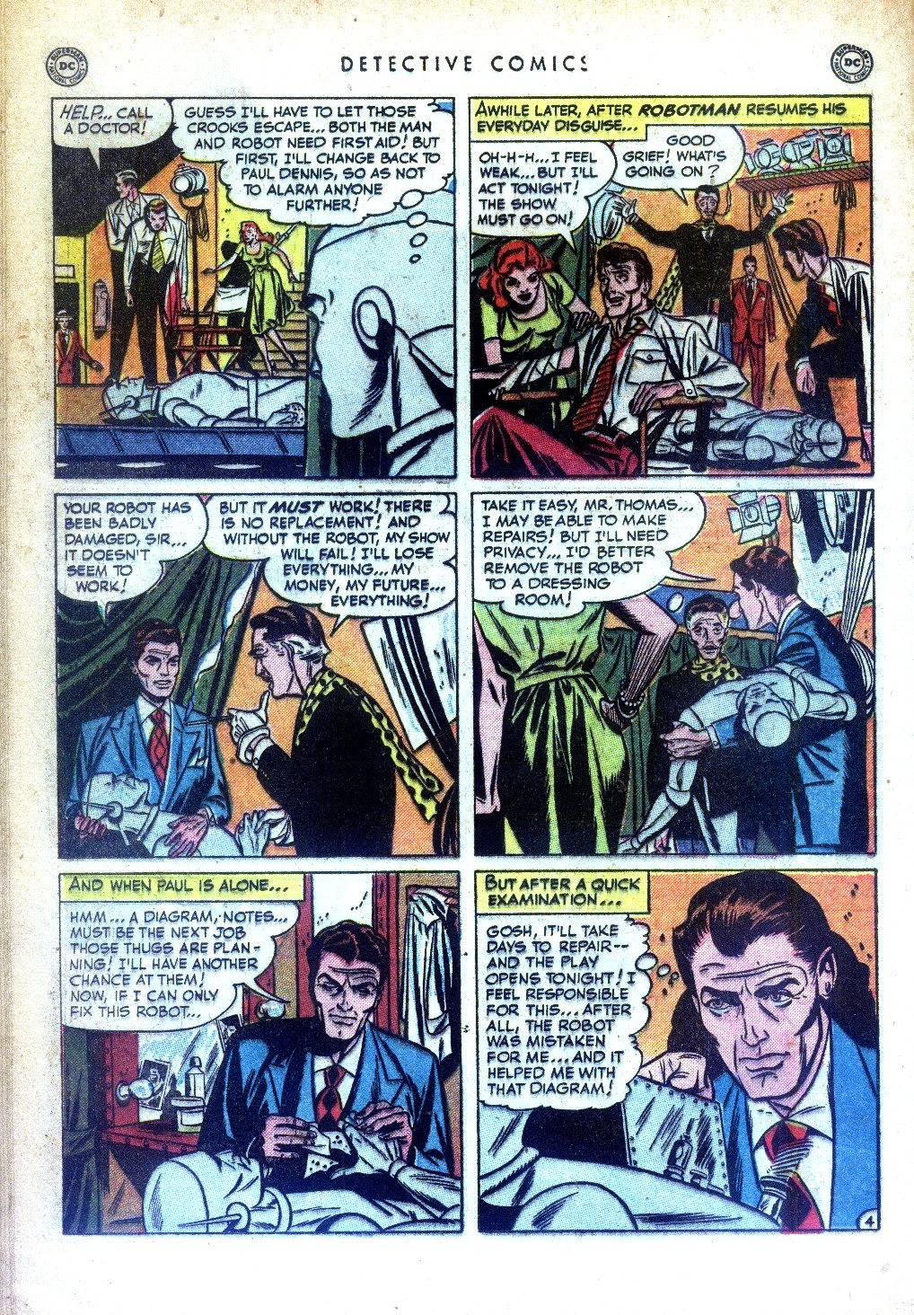 Read online Detective Comics (1937) comic -  Issue #169 - 34
