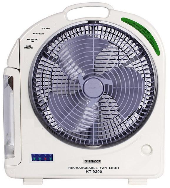 Quạt sạc Kentom KT-9200 (KT9200) thế hệ mới ✅ Sử dụng Ắc quy Siêu bền ✅ Có thể chạy 7-8 giờ ✅ Địa chỉ Uy tín Giá rẻ nhất ✅ Dịch vụ tốt nhất