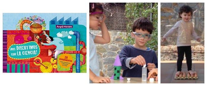 cuentos infantiles libros juego fomentar lectura a partir de jugar nos divertimos ciencia angels navarro
