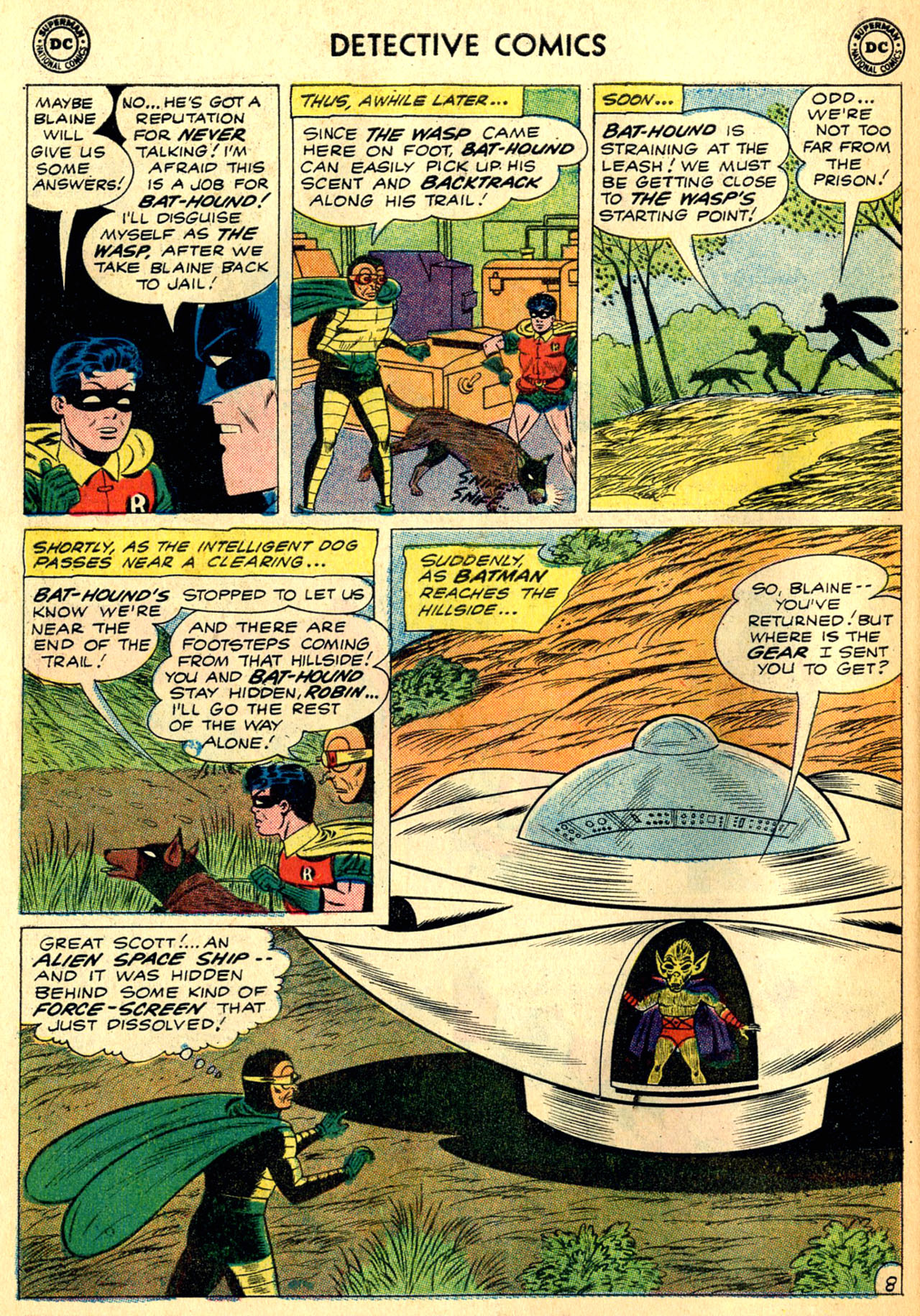 Detective Comics (1937) 287 Page 9