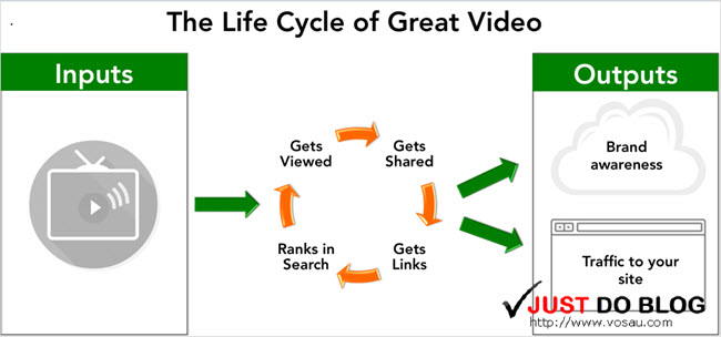 the life cycle of youtube videos