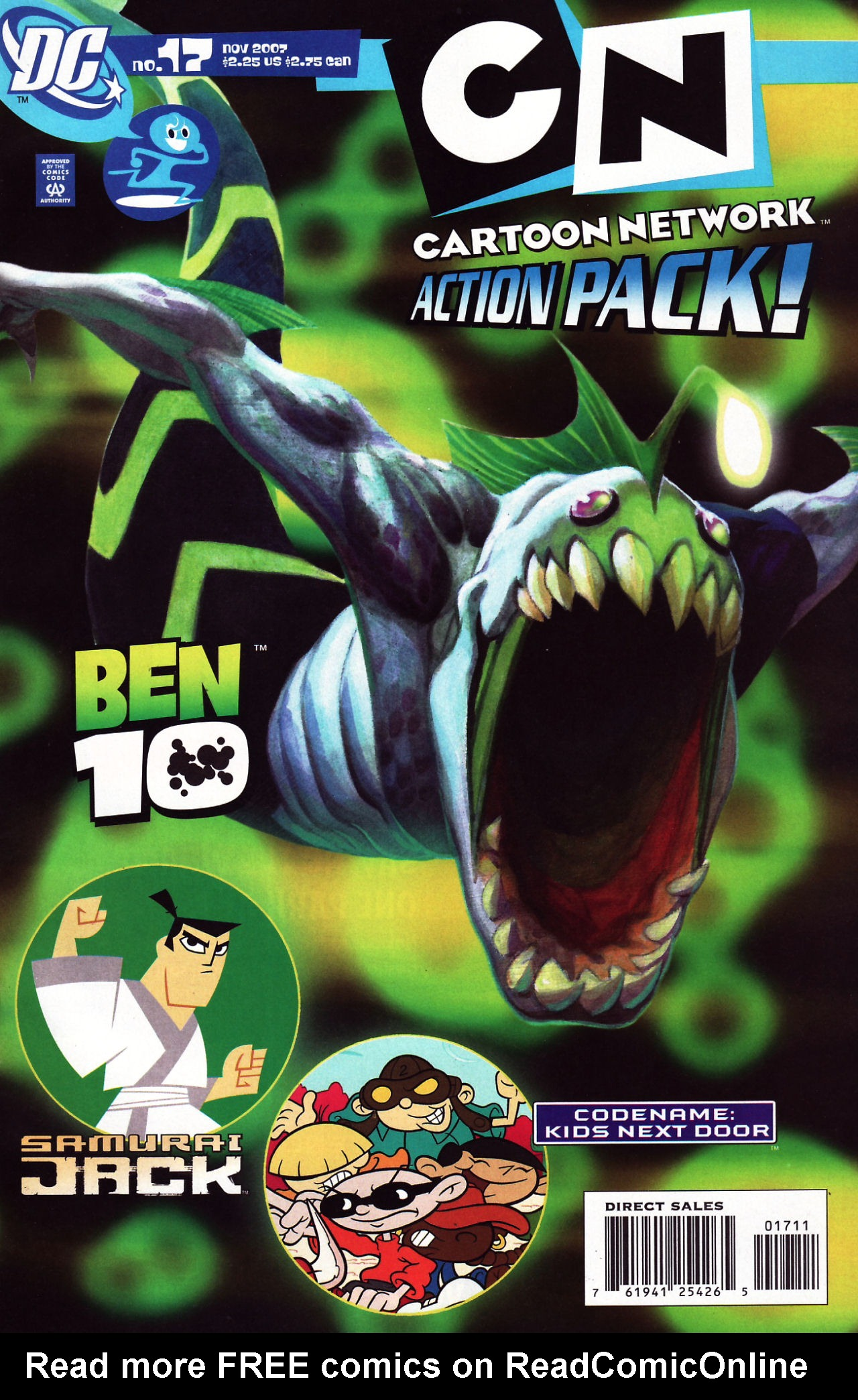 Cartoon Network Action Pack 17 Page 1