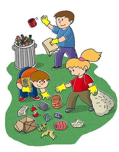 la contaminación del recurso suelo para los niños