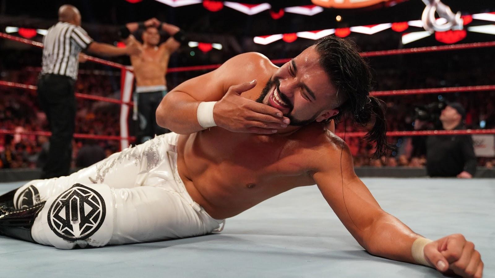 WWE oficializa retirada de Andrade da WrestleMania 36