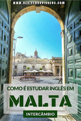 Intercâmbio de inglês em Malta.