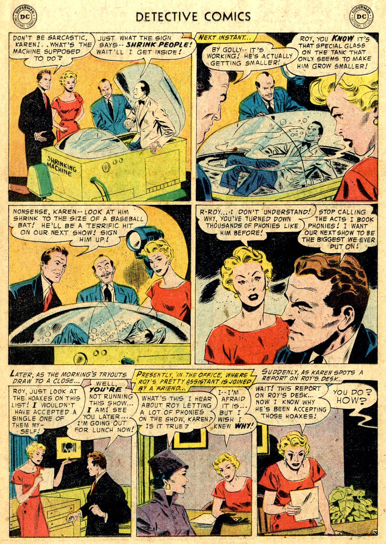 Read online Detective Comics (1937) comic -  Issue #235 - 18