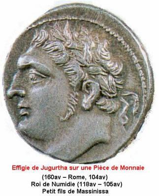 coin with Jugurtha face