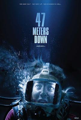 Poster 47 Metres Down 2017 Dual Audio HD 1080p