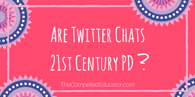 Are twitter chats 21st century PD?