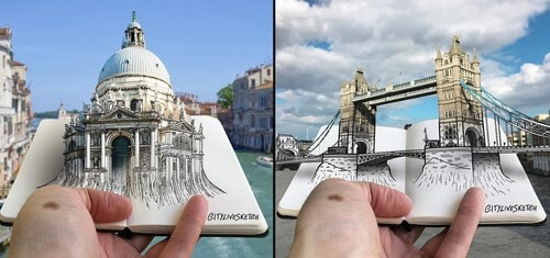 00-Pietro-Cataudella-3D-Architectural-Urban-Moleskine-Sketches-www-designstack-co