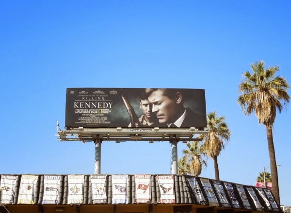 Killing Kennedy National Geographic Channel billboard