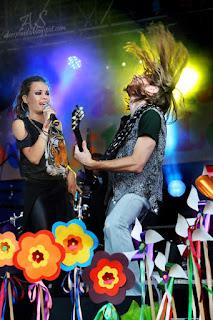 Koncert Natalia Szroerder, gitarzysta Rafał Powązka,  Strzelin 6.09.2014