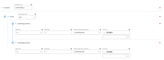 SAP Hybris Commerce Promotion Engine, Acorel