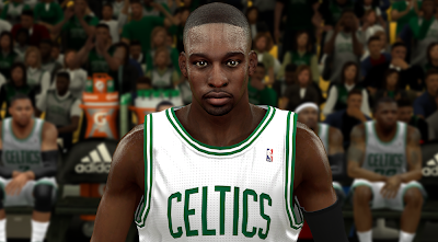 NBA 2K14 Jeff Green Face Mod