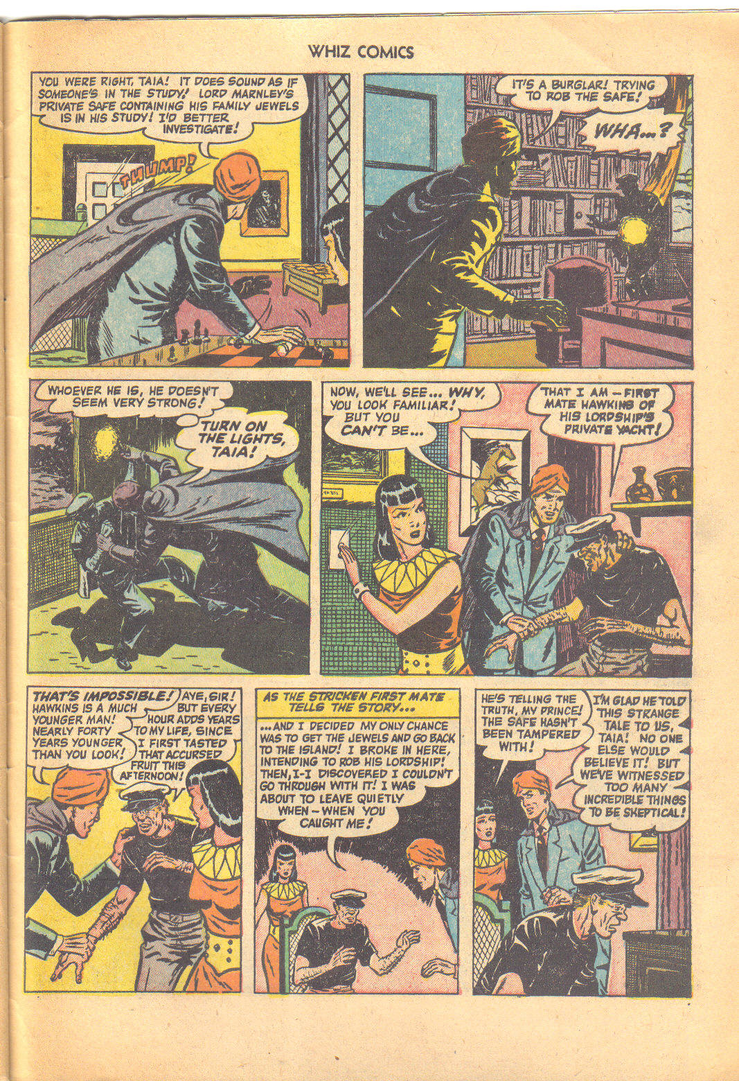 WHIZ Comics issue 147 - Page 31