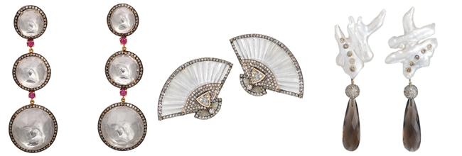 most beautiful mother of pearl earrings