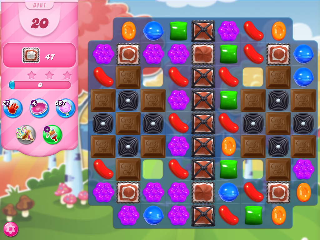 Candy Crush Saga level 3181