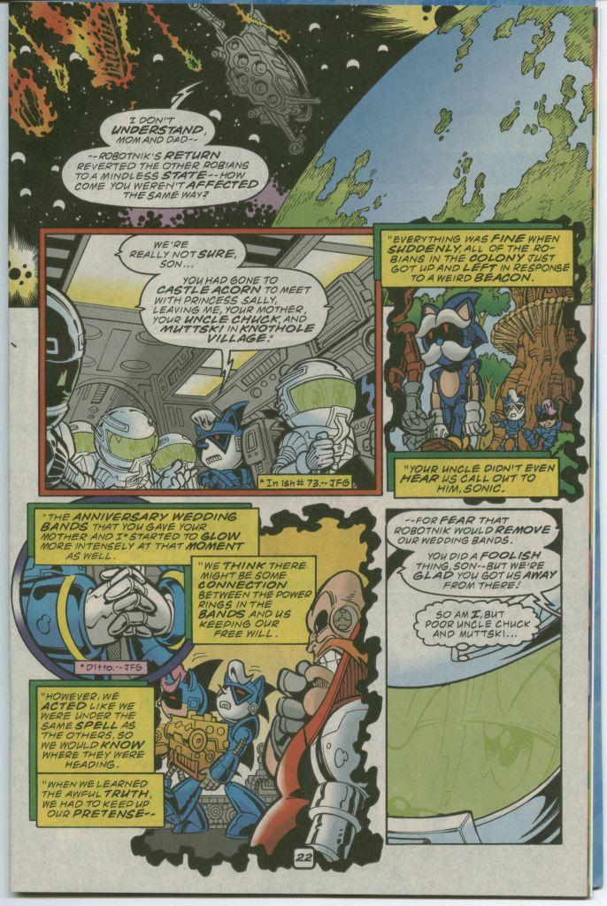 Read online Sonic The Hedgehog comic -  Issue #75 - 29