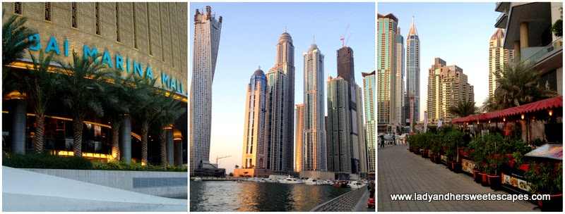 Dubai Marina attractions