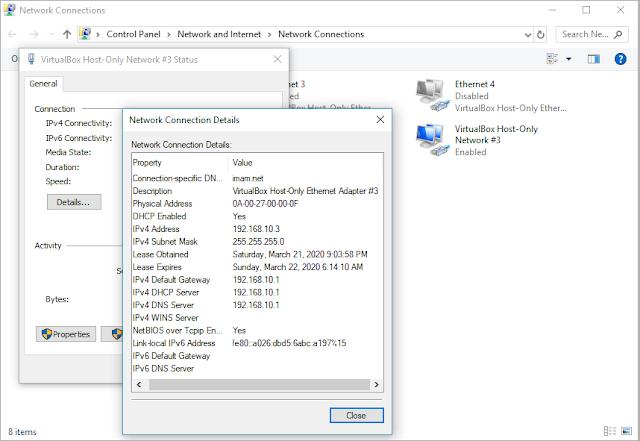 Mengunakan DHCP server