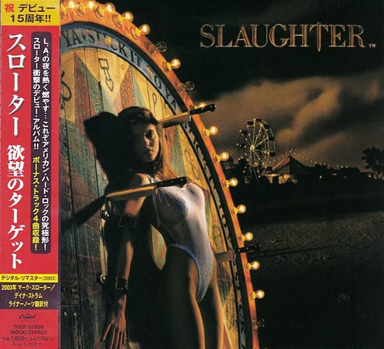 SLAUGHTER - Stick It To Ya [Japan Edition remastered +4] Out Of Print full