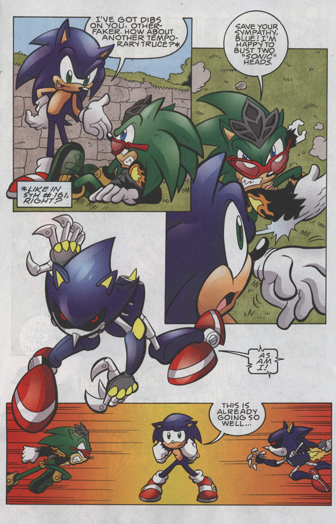 Read online Sonic The Hedgehog comic -  Issue #191 - 8