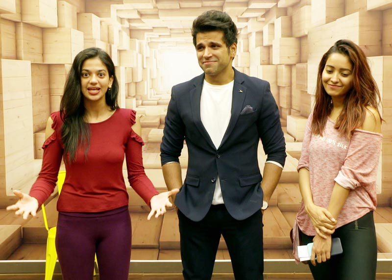 Asha Negi, Rithvik Dhanjani and finalist Shruti