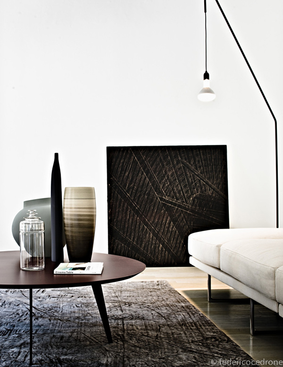 Gorgeous contemporary apartment. Styling by Simona Sbordone, photo by Federico Cedrone
