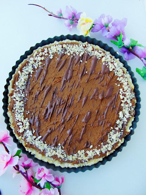Tarta z kremem dyniowo-czekoladowym