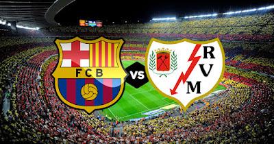 مشاهدة مباراة برشلونة ورايو فاليكانو بث مباشر اليوم