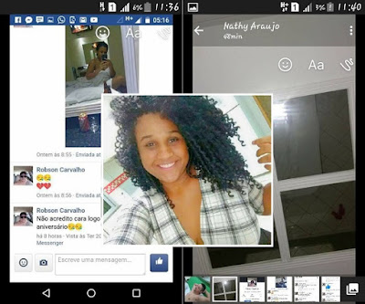 Garota trai namorado e posta as fotos no Facebook