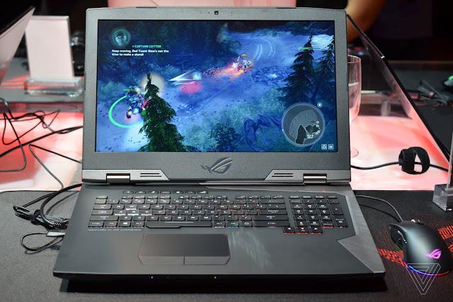 [IFA 2017] Asus ra mắt laptop chơi game Asus Chimera màn hình 144Hz, Card GTX 1080