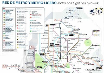 Historias matritenses El Metro de Madrid y sus cambios de nombres