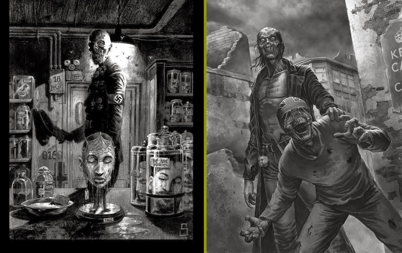 Sine Requie - Il Tomo dei Morti Vol.2 - illustrazioni (S.Delladio - A.Bontempi)