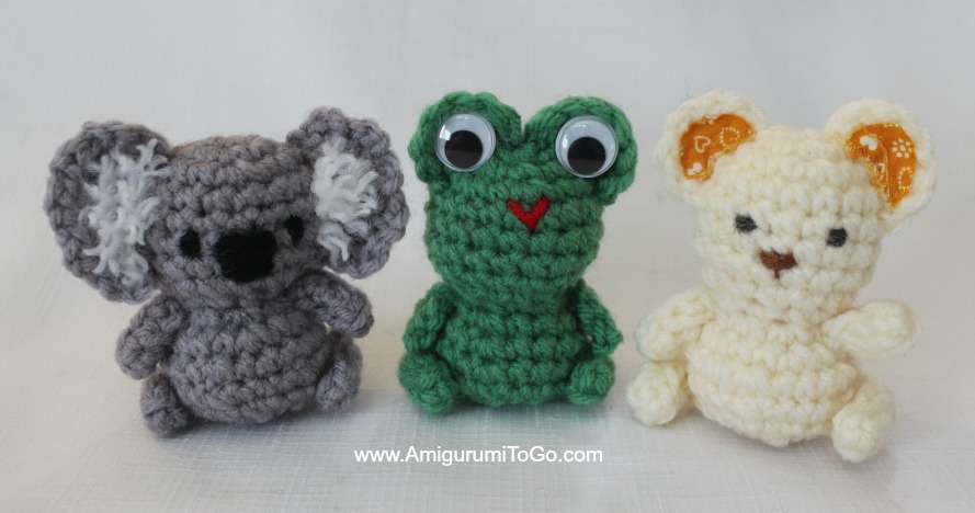 Little Amigurumi Patterns Free : Lil trouble teddy and friends amigurumi to go