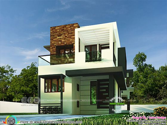 4 bedroom contemporary style modern home