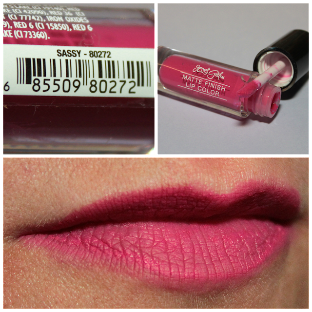 Jesse's Girl Matte Finish Lip Color - Sassy