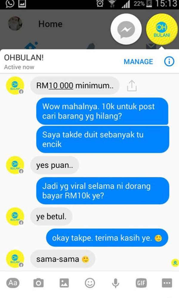 Wanita Ini DEDAH OhBulan Caj RM10k Untuk Viralkan Stroller Hilang Cetus Kritikan Netizen!