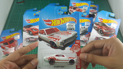 Hot Wheels Red Edition '68 Chevy Nova