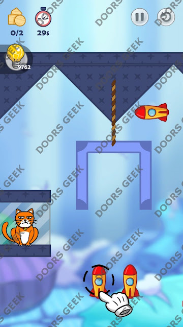 Hello Cats Level 169 Solution, Cheats, Walkthrough 3 Stars for Android and iOS