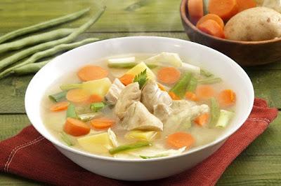 Gambar Sup Ayam Jahe Sajian Sedap