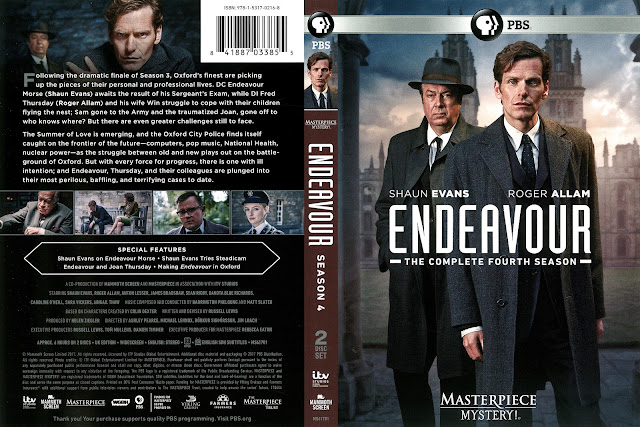 Endeavour Season 4 DVD Cover
