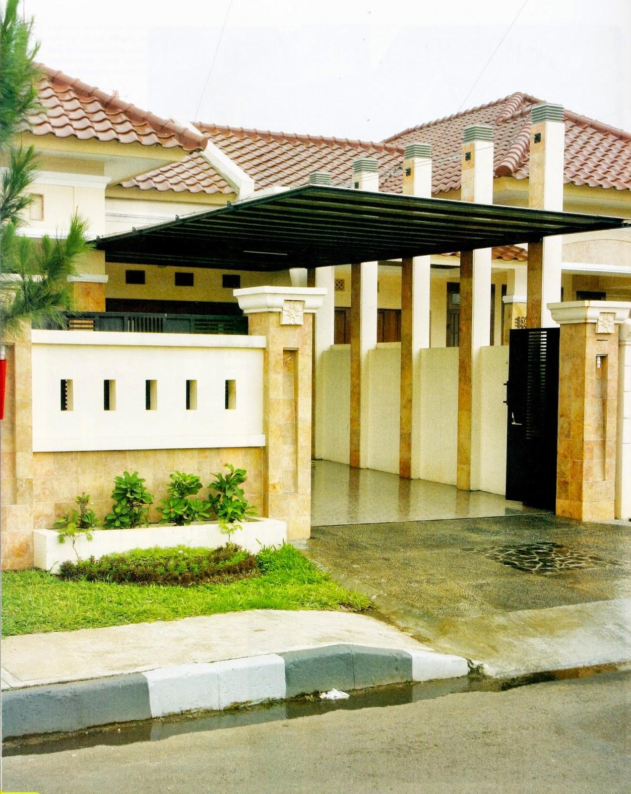 67 Desain  Rumah Minimalis  Dengan 2 Carport  Desain  Rumah