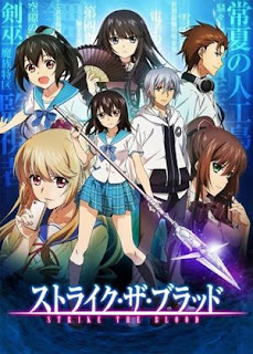 Strike the Blood - Anime action supernatural dengan unsur vampire terbaik Fall 2013