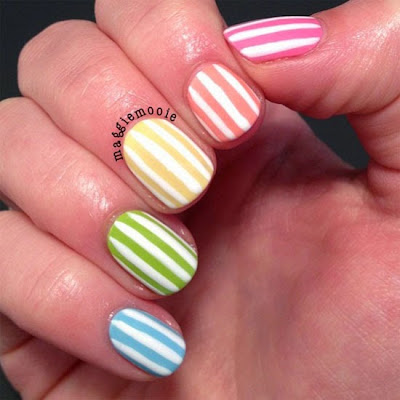 Gel nails designs summer | Nail designs Pinterest | Pinterest Nails Art | summer nails pinterest