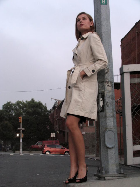 burberry trench coat fashion