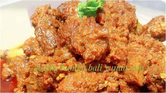 Resep Daging Bumbu Bali Ini Rasanya Enak, Gurih, Dagingnya Empuk Banget dan Bikin Laperr Terussss