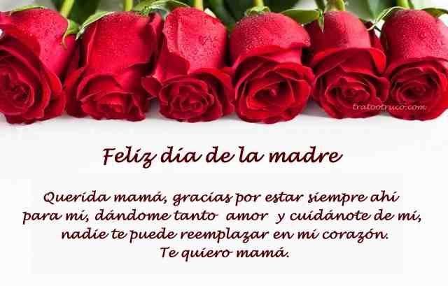 feliz dia de las madres