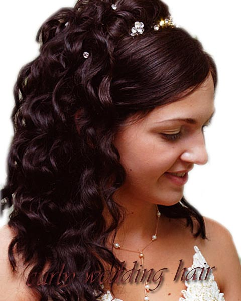 Short Hair Style Guide And Photo Short Curly Wedding Hairstyles For Women