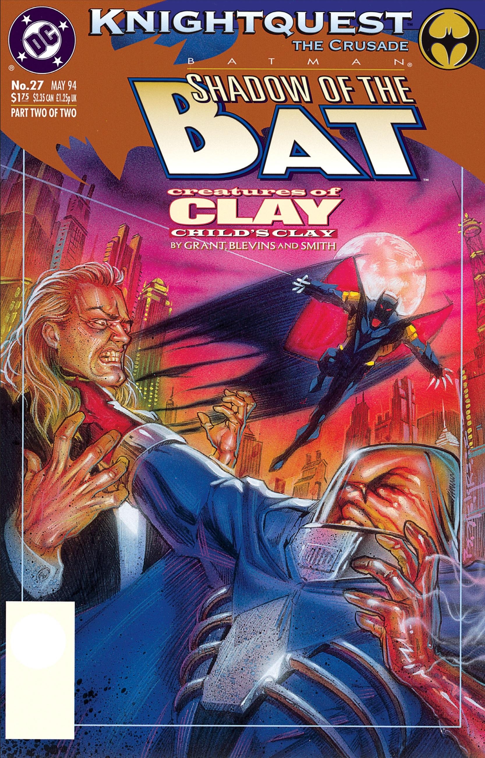 Batman: Shadow of the Bat 27 Page 1